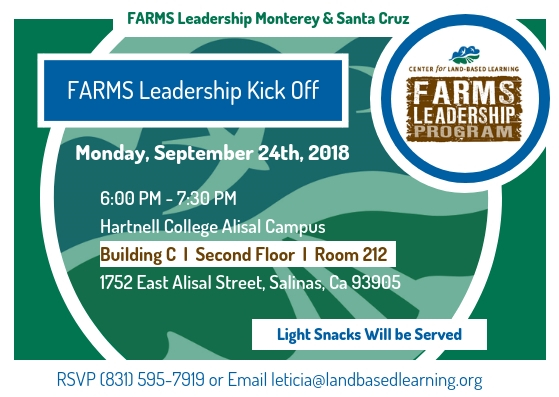 FARMS Leadership Monterey/Santa Cruz Kick Off