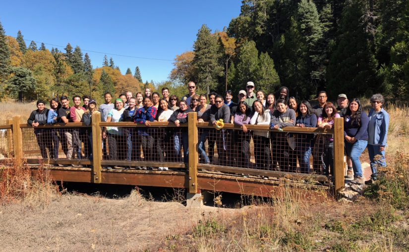 Inland Empire Students Head to the Mountains for a SLEWS Meadow Restoration Project