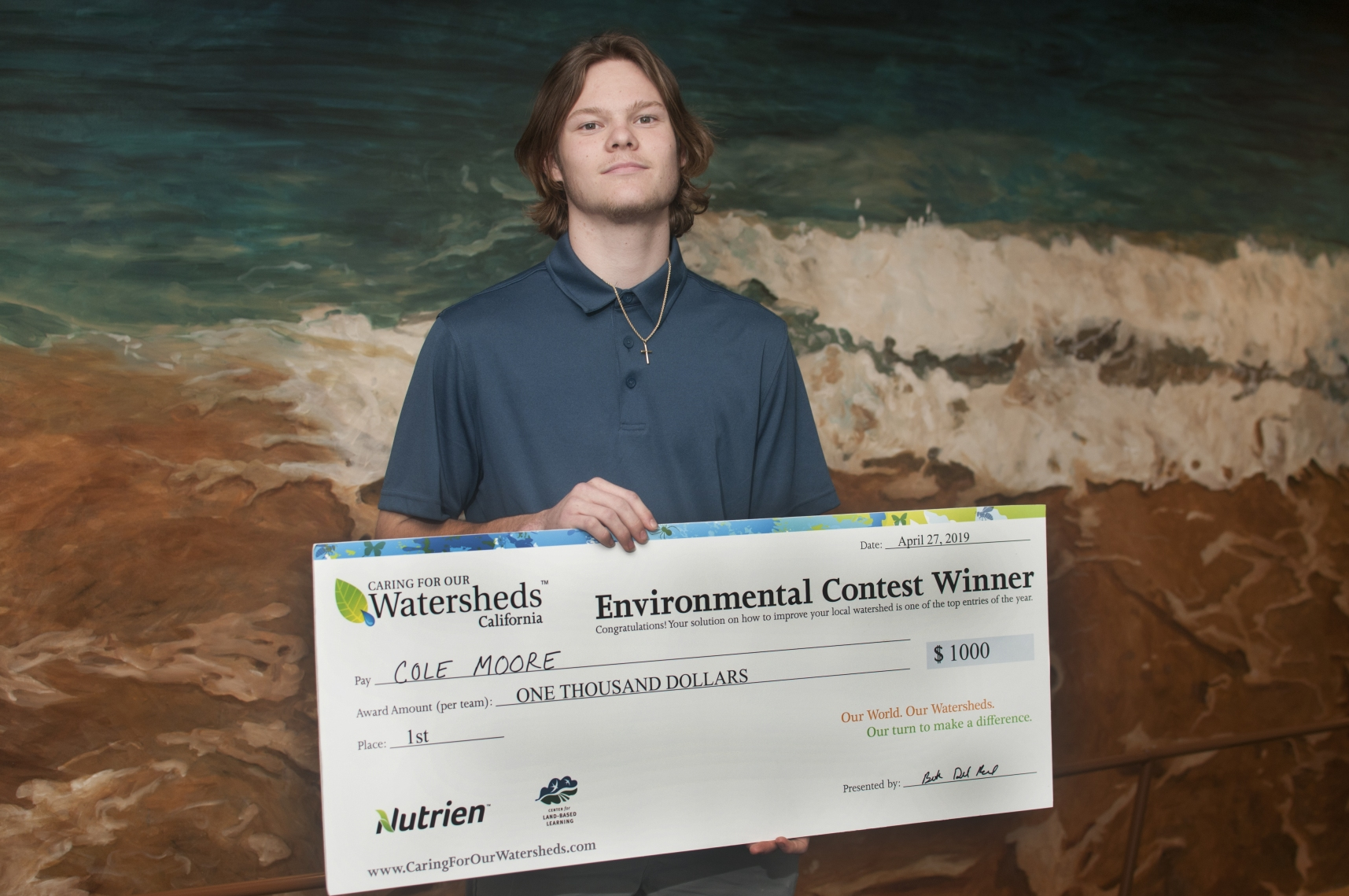 Caring for Watersheds 1st Place