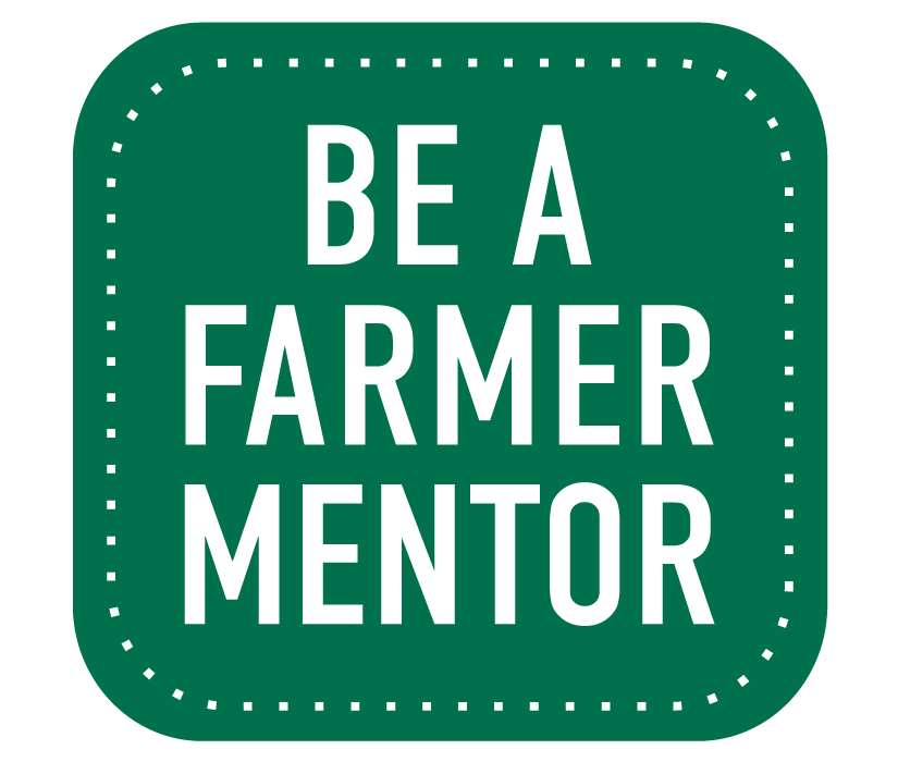 Be a farmer mentor