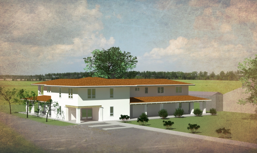 Center for Land-Based Learning Headquarters Building Rendering