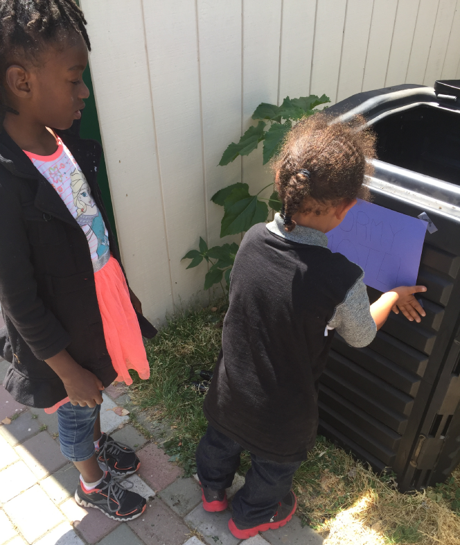 Composting at Mustard Seed School