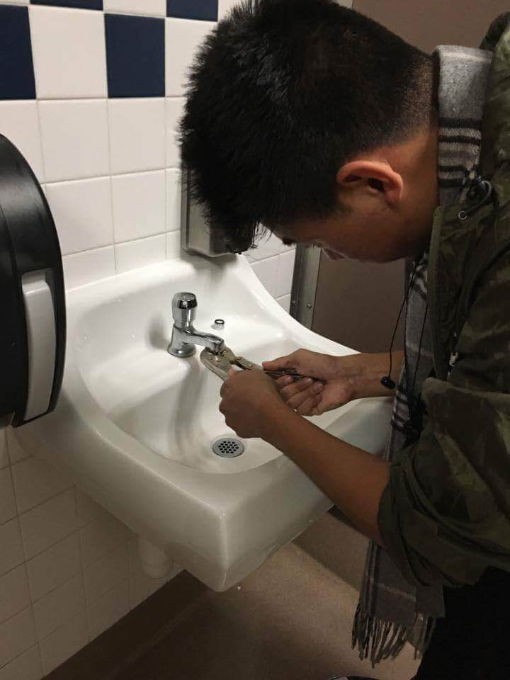 Reducing Water Use with Faucet Aerators