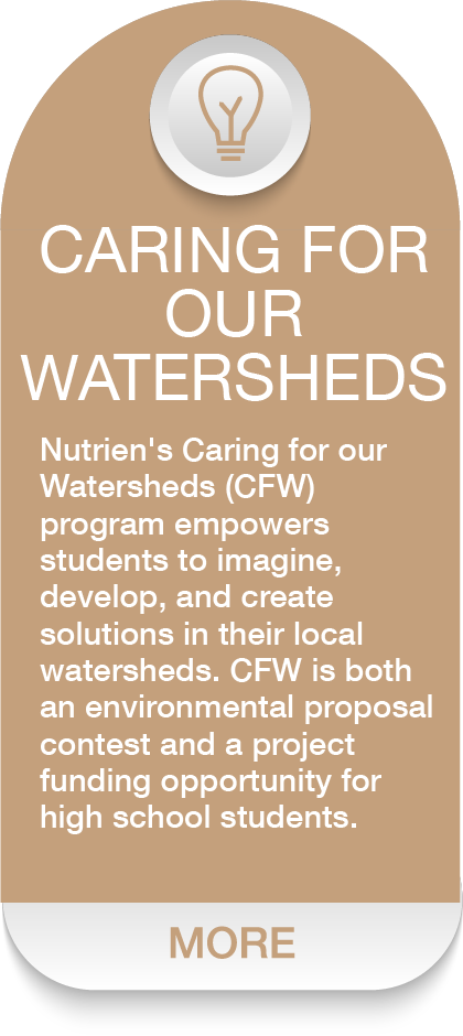 CARING FOR OUR WATERSHEDS Dash