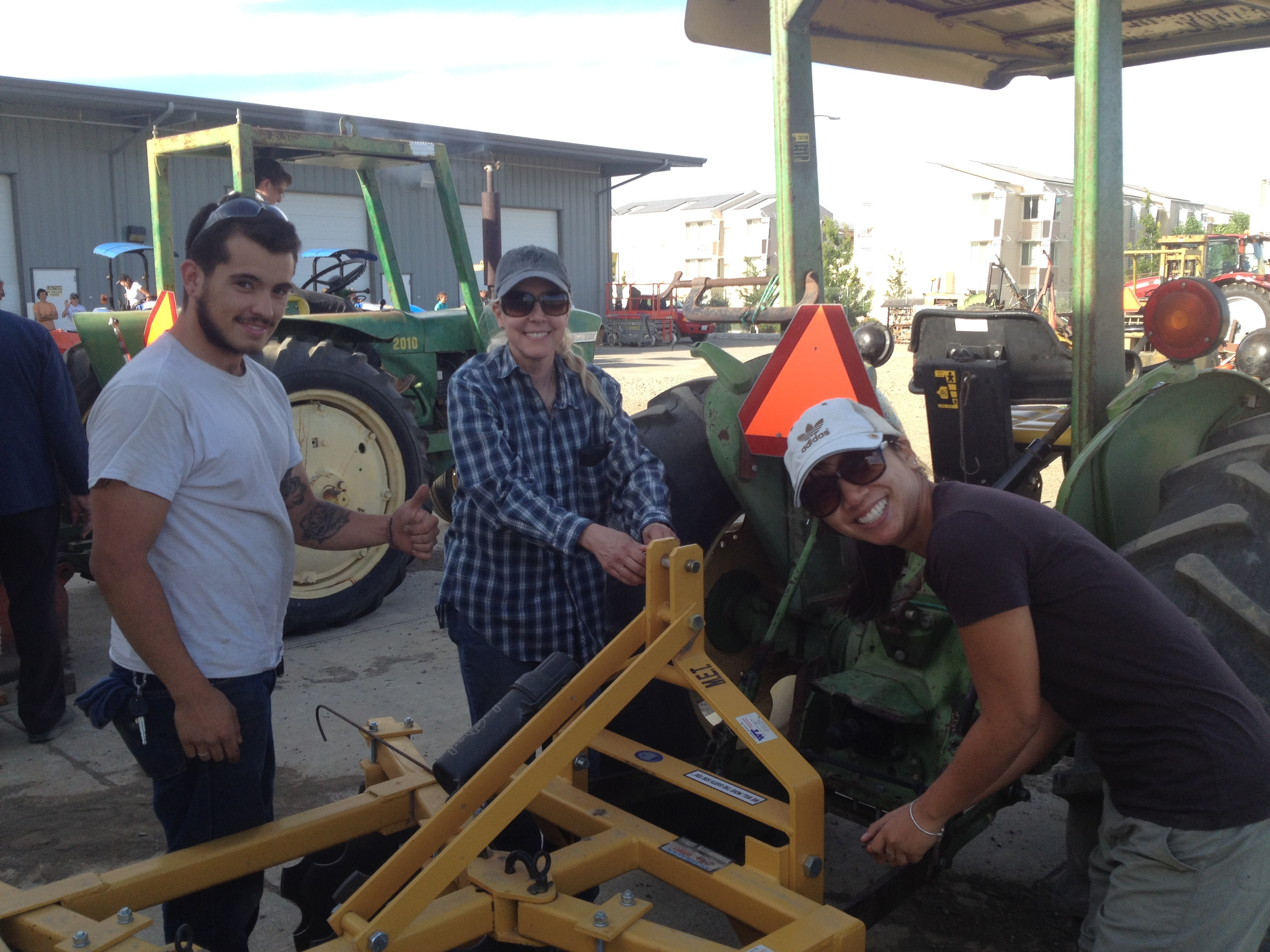 Tractor driving and maintenance classes