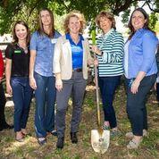 Farm Credit Staff at Groundbreaking