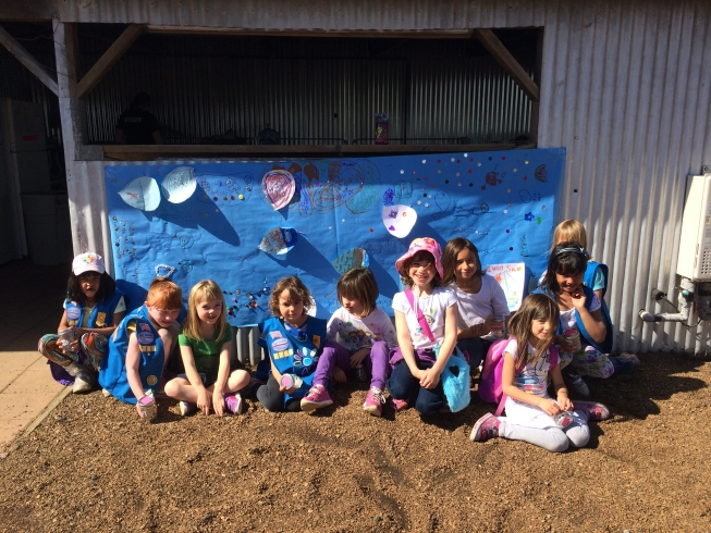 Girl Scout programs at the Farm on Putah Creek