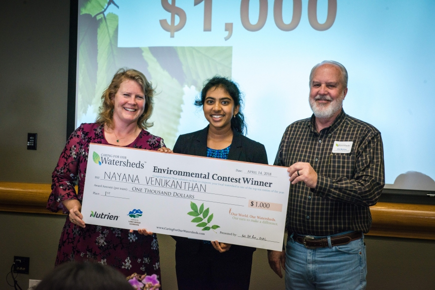 Caring for Watersheds contest 1st Place Winner