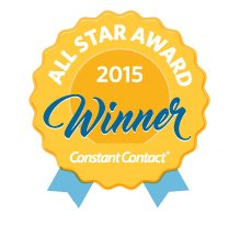 Land-Based Learning received the 2015 All Star Award from Constant Contact�, Inc.