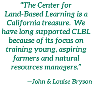 Quote from John and Louise Bryson