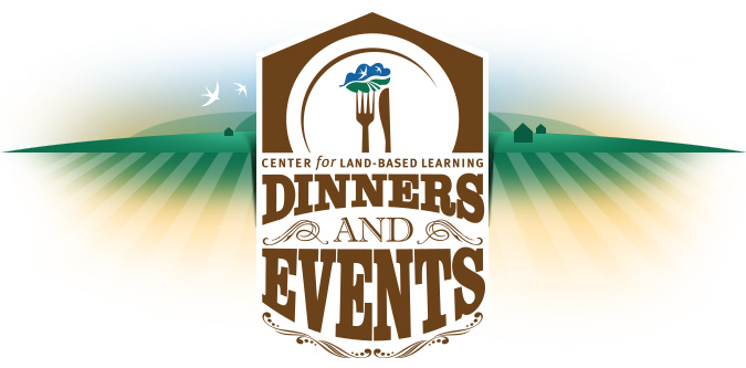 Center for Land-Based Learning Dinner and Events header