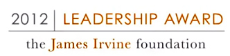 The James Irvine 2012 Leadership Award Recipient