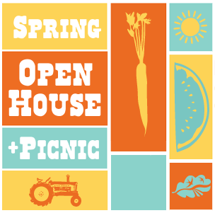 Spring Open House logo
