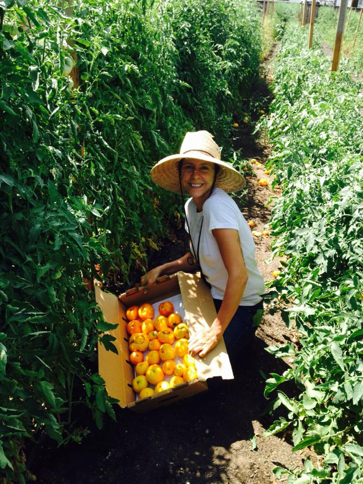 Farm Manager Sara Bernal