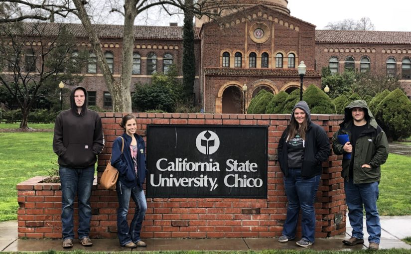 FARMS Advanced visits Chico State